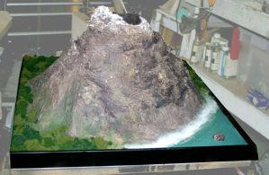 School Volcano Project by TimBakerFX
