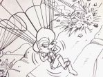 Sally in Sonic X-Treme Junior Novel 2 (Upgraded) by bvw1979