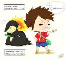 Com : Go Typhlosion... by Hhell