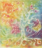 A Tree in a Dream by flamingfish