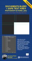 Photoshop Actions For Bleed Area Documents by zestladesign