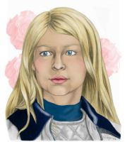 HP: Poesy as Fleur - Colour by WolfenM