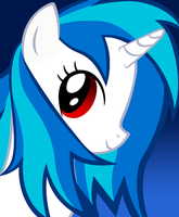 Vinyl Scratch Wet Mane by Soohable