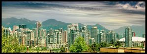 Downtown Vancouver by tt83x