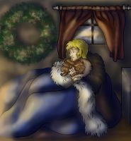 Rori and Yokov - It's Cold Outside by dragondoodle