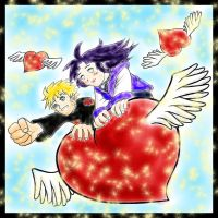Naruhina love is in the air by DarkChocaholic