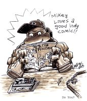 Mikey loves comix by mikey-c