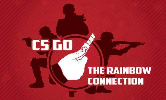 DEDR CS GO Banner The Rainbow Connection by Yoblicnep