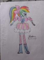 Rainbow Dash Equestria  Girls by RainDashESP