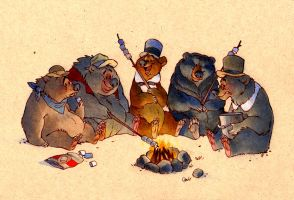 osborn and the country bears by luve