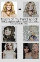 touch of my hand action by beingclassic