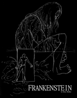 Frankenstein Book Cover by bastardized