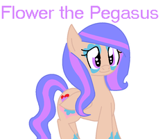 Flower the Pegasus by nyan-cat-luver2000