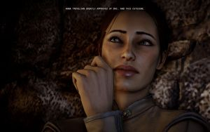 Anna Trevelyan greatly approves by raccooncitizen
