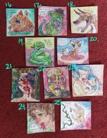 Original Mini Paintings for Sale by quietsecrets