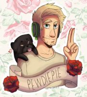 PewDiePie by re-flamed