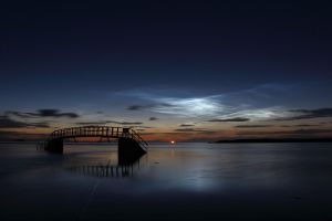 Noctilucent clouds by mmc1uk