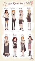 Harry Potter: Next Generation Girls by BoffieXD