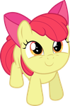 Looking Up - AppleBloom by TomFraggle