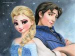 Elsa and Flynn by iSaBeL-MR