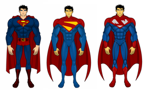 Three Ways I See Superman by SplendorEnt