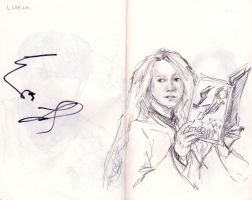 Luna Lovegood by MRZ-Tonks