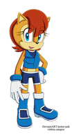 Sally Acorn SonicX by heitor-jedi