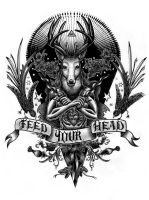 Tattoo Feed Your Head by central-dogma