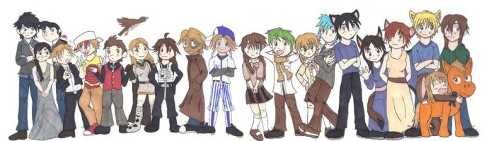Original Character Mural Project by 1863project