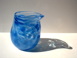 Blue Spotted Creamer by paperfetish