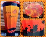 Lion King Inspired Drum by LaurelArts