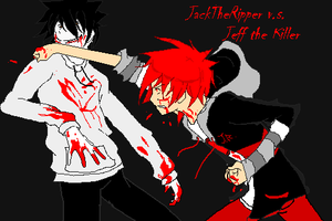 JackTheRipper v.s. Jeff The Killer by EP-EpicSlave