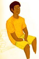Elias in Yellow by BlueCheshireCat