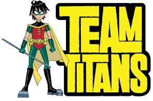 Team Titans - Robin Logo by Glee-chan