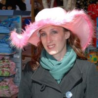 Me In a Pink Hat by tleach0608