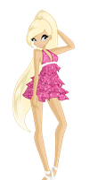Callie in casual wear - RQ by magicalcolourofwinx