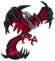 (X+Y) This Yveltal Again by SoftMonKeychains
