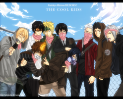 KHR: The Cool Kids by miho-nyc