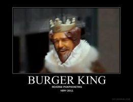 The Burger King by IappearToBeSpy