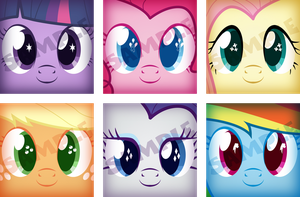 Ponikeychains by King-Reaper