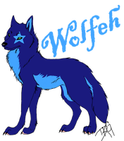Wolfeh by iRaynebow