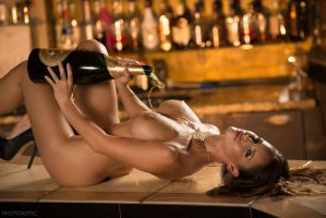 in a champagne mood by Photorotic