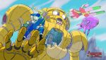 Adventure Time x Mobile Suit Gudam by NoBackstreetboys