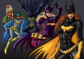 Batgirls by ADL-art