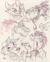 More Doodle Junk by zillabean