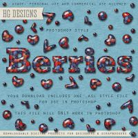 PS Style: Berries by HGGraphicDesigns