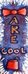 Bowties are cool - Bookmark by WitTea