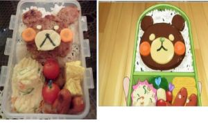 Kuroko's Basketball bento (the one made by sakurai by BentoKJX