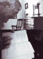 reading dylan thomas by theunhappiestone