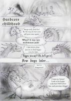 Dragon's hard childhood by WalesDragon-2012